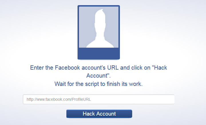 Way 3: Use the forgot password method and hack someone's Facebook account